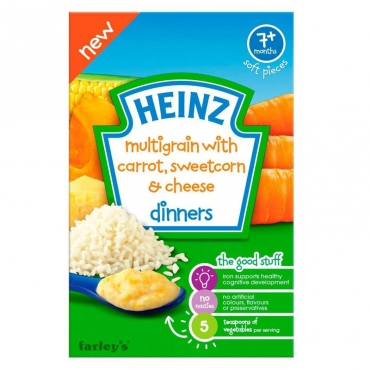 Multigrain with Carrot Sweetcorn and Cheese