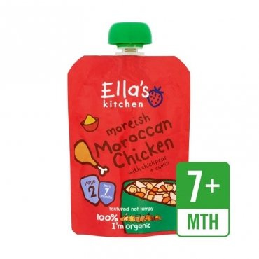 Ella's Kitchen Moroccan Chicken