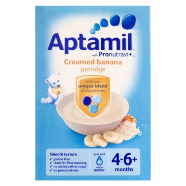 Aptamil Creamed Banana Porridge