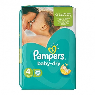 Pampers baby dry belt 4