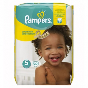 Pampers premium protection 5