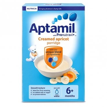 Aptamil Creamed Apricot Porridge