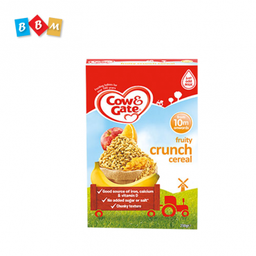 Cow & Gate Fruity crunch baby cereal