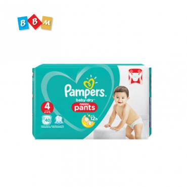 Pampers baby dry pant 4 38 pcs