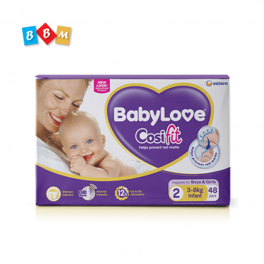 BabyLove Cosifit Nappies Size 2