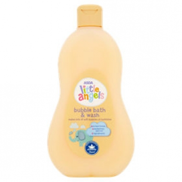 ASDA little angels bubble bath & wash