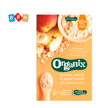 Organix Banana,peach & apple muesli