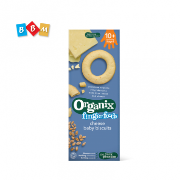 Organix finger foods cheese baby biscuits