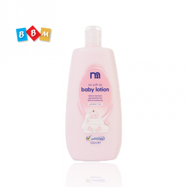 mothercare as soft as baby lotion 500ml