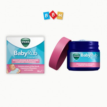Vicks Baby Rub UK 50ml