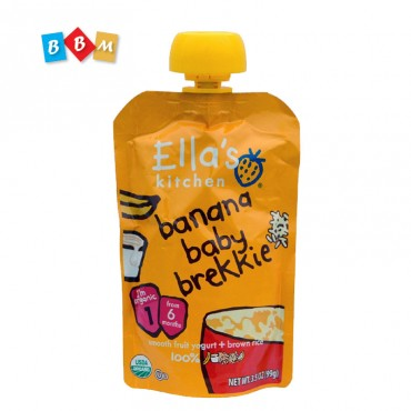 Ella's Kitchen banana baby brekkie