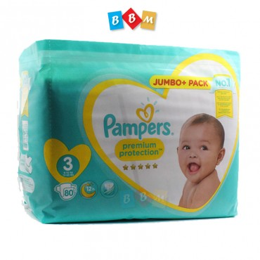 Pampers Premium protection 3 Jumbo Pack