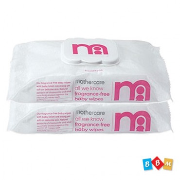 Mothercare fragrance free baby wipes
