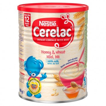 Nestle Cerelac Honey & Wheat with Milk 1kg
