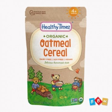 Healthy Times Organic Oatmeal Cereal