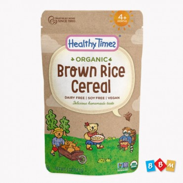 Healthy Times Organic Brown Rice Cereal