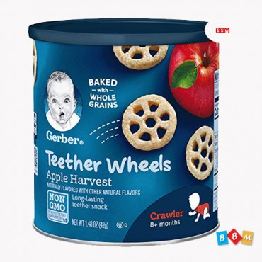 Gerber Teether Wheels Apple Harvest