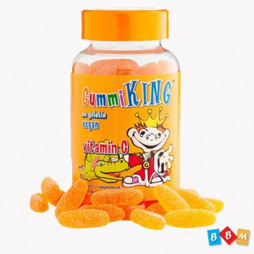 Gummi King, Vitamin C for Kids, Natural Orange Flavor
