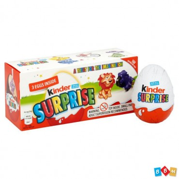 Kinder Surprise 3 pack 60g