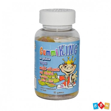 Gummi King multi-vitamin and mineral veg, fruits & fiber