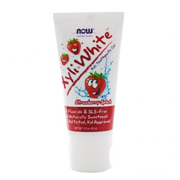 NOW Strawberry Splash Toothpaste