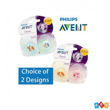Avent Classic pacifier 0-6m