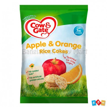 Apple & Orange Rice Cake
