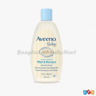 Aveeno wash & Shampoo 354ml