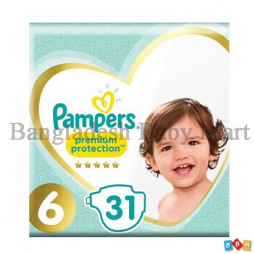 Pampers Premium protection size 6 (31p)
