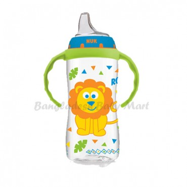 NUK Large Learner Cup Bottle  9m+    300 ml