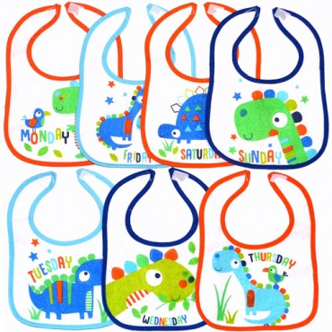 Lily & Jack 7 pack Bib Animal