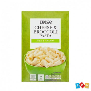Tesco Pasta In Sauce Cheese & Broccoli  (Mild & Creamy)120G