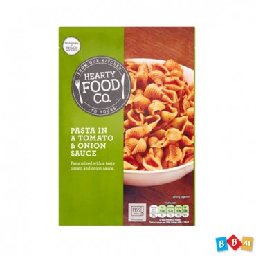 Hearty Food Co Pasta In Tomato & Onion Sauce 110G