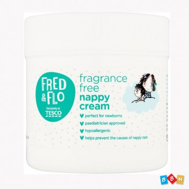 Tesco Fred & Flo Fragrance  free nappy cream