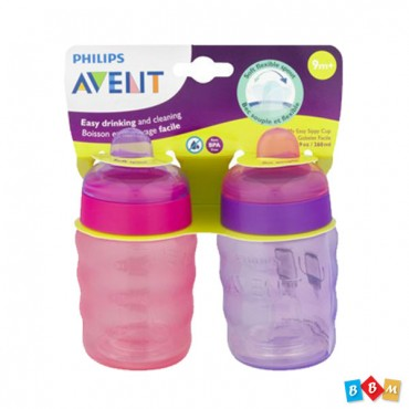 Avent Easy Sippy Cup pink