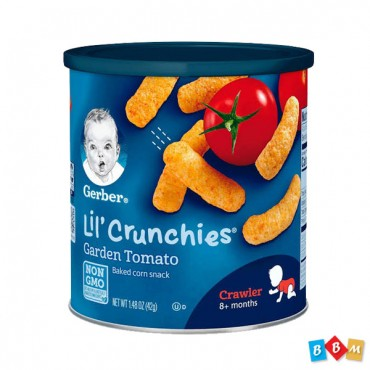 Gerber Lil Crunchies  Garden Tomato  8+