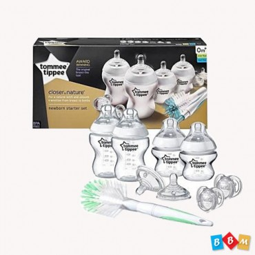 Tommee Tippee close to nature newborn starter set