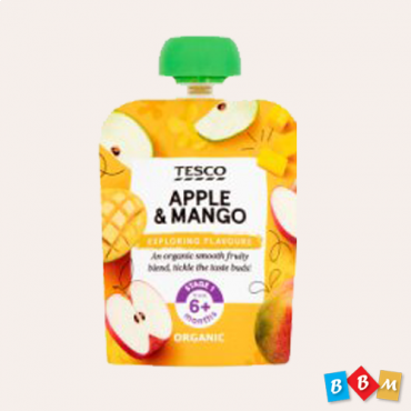 Tesco Apple & Mango Pouch