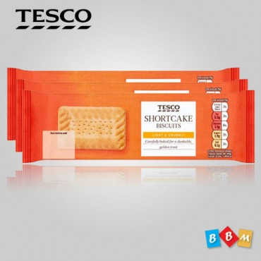 TESCO SHORCAKE BISCUITS