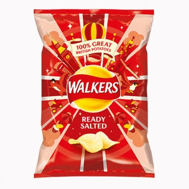 Walkers Ready salted potato crips