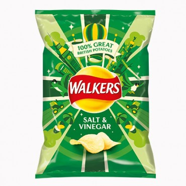 Walkers Salt & vinegar potato crips