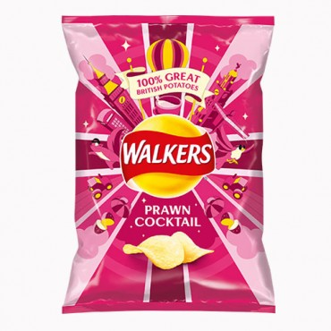 Walkers Prawn cocktail potato crips