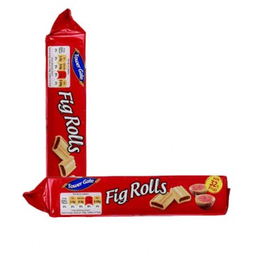 Tower Gate Fig Rolls biscuit
