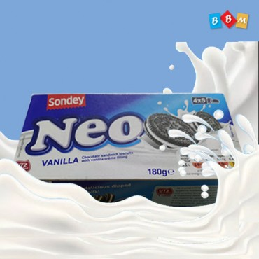 Sondey NEO Vanilla chocolate sandwich Biscuits