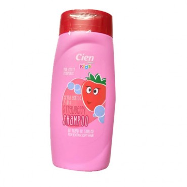 Cien Extra gentle 2 in 1 strawberry shampoo