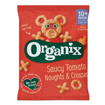 Organix Saucy Tomato Noughts & crosses