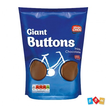 Mister Giant Buttons Milk  chocolate