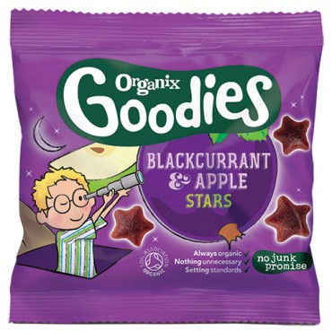 Organix Goodies Blackcurrant & Apple Stars