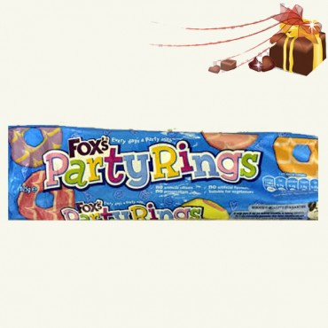 Fox's Party Rings Biscuit