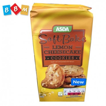 ASDA Soft Bake Lemon Cheese Cake Cookies